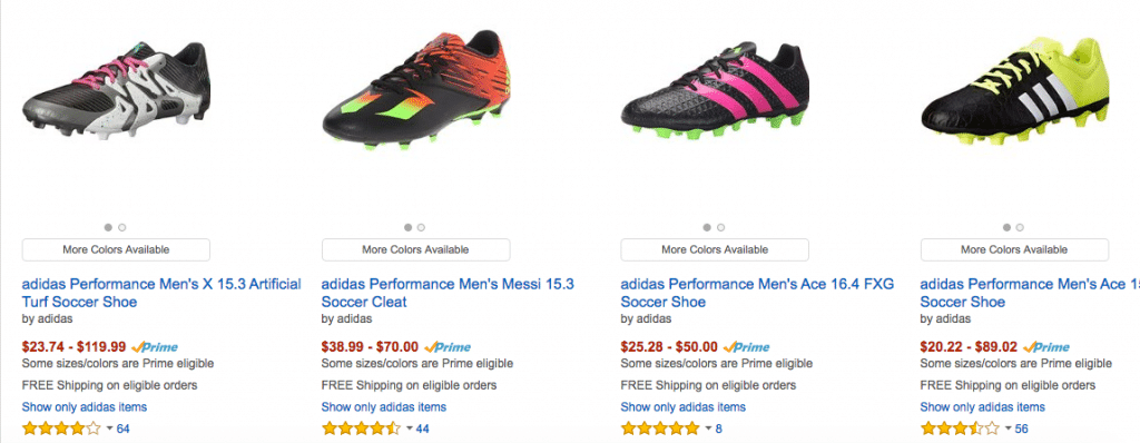 soccer boots amazon