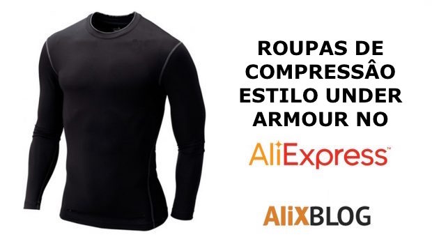 Under armour no AliExpress