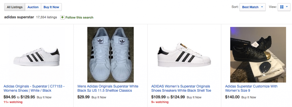 Adidas Superstar Ebay