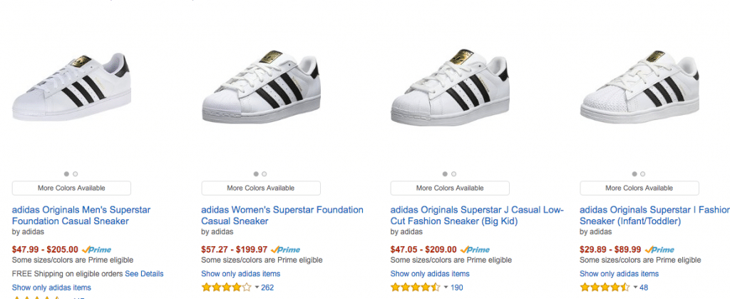 bb1672ab31a Cheap Adidas Superstar sneakers on AliExpress
