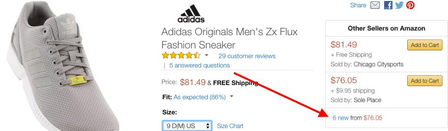 Amazon flux new