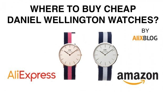 Daniel wellington Amazon & AliExpress