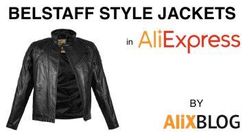 Como comprar jaquetas de couro estilo Belstaff com preço de outlet no AliExpress