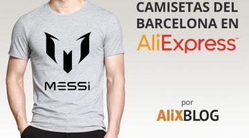 ¿Hay camisetas del Barcelona baratas en AliExpress?