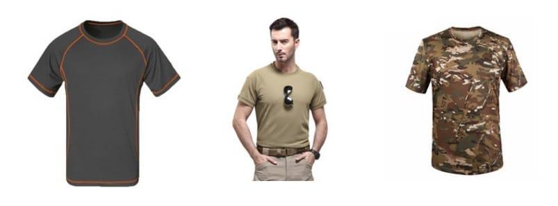 Camisetas de senderismo y hiking