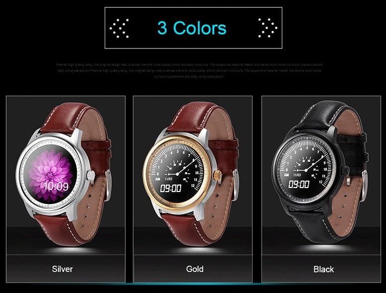 Colores relojes Lemfo