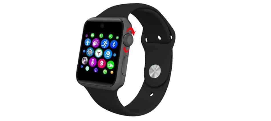 Clon chino del Apple Watch