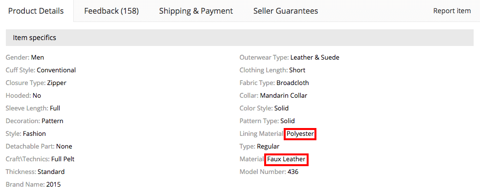 product details belstaff