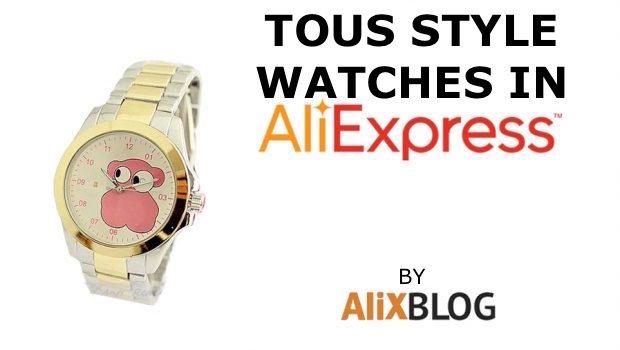 Reloj tous mujer aliexpress