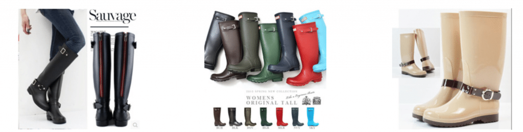 Botas estilo hunter baratas en aliexpress 1024x260