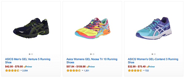 Cheap Asisc Shoes in Amazon
