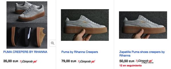 Cheap Puma Creepers in eBay