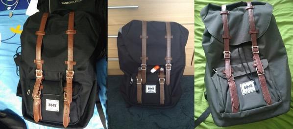 Cheap herschel style backpacks china