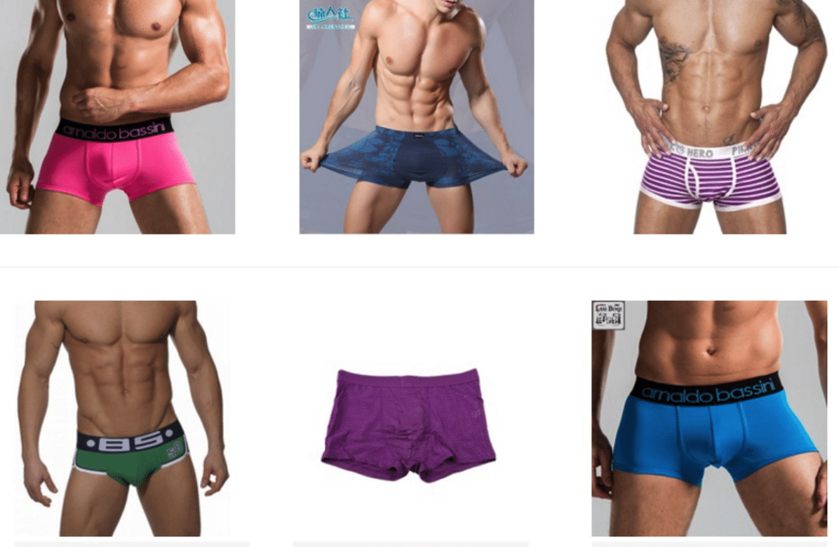 Cheap male boxers and underwear online aliexpress