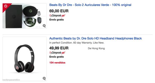Headphones dr dre beats scontati en ebay mejor que aliexpress
