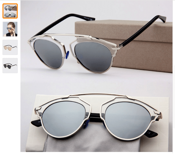 Sunglasses So Real style in aliexpress cheap and good quiality