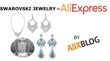 Shopping guide for Swarovski style rings, earrings, necklaces and bracelets in AliExpress
