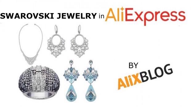 Swarovski jewelry aliexpress