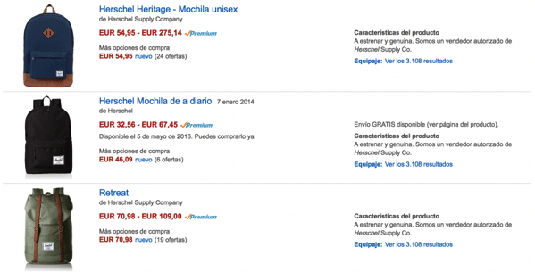 Zano herschel amazon scontati