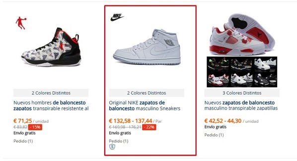 Air jordan originales aliexpress