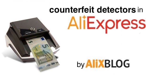 counterfeit detectors in aliexpress