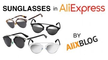 Cheap vintage sunglasses: Dior So Real style & other models in AliExpress