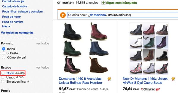 Dr marten scontati online en ebay come comprare