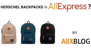 Cheap Herschel Backpacks: how to find the best deals in AliExpress (they have originals!)