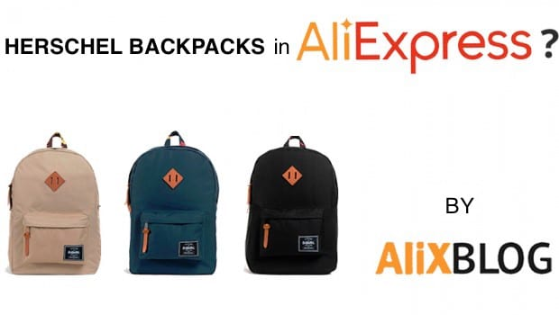 3369d57284 Cheap Herschel Backpacks  how to find the best deals in AliExpress (they  have originals!)