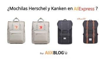 Mochilas Herschel y Kanken: cómo encontrar clones muy baratos en AliExpress