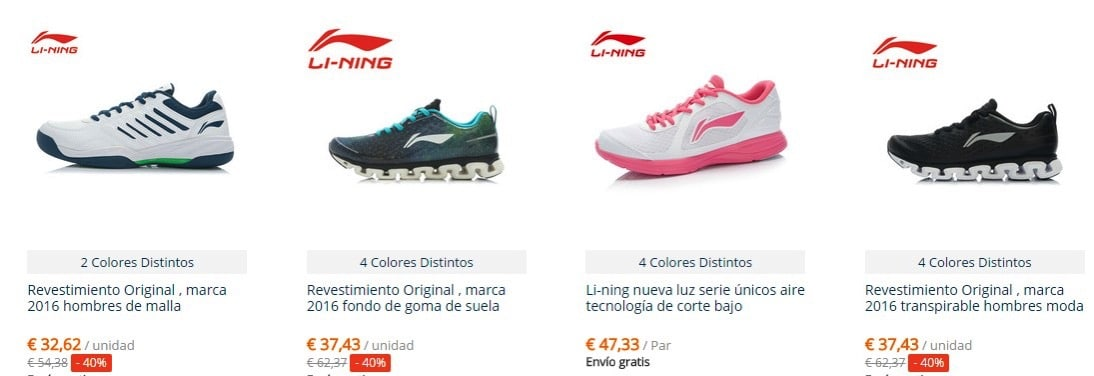 Li ning cheap quality chinese running shoes