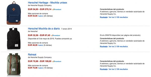 Mochilas herschel baratas a precio de outlet 1024x521 1
