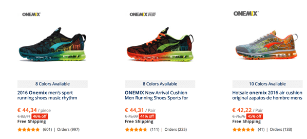 Onemix runing sneakers cheap and good quality best alternative