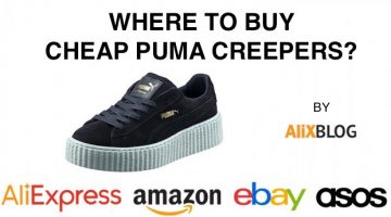 Where can I find cheap Puma Creepers by Rihanna?