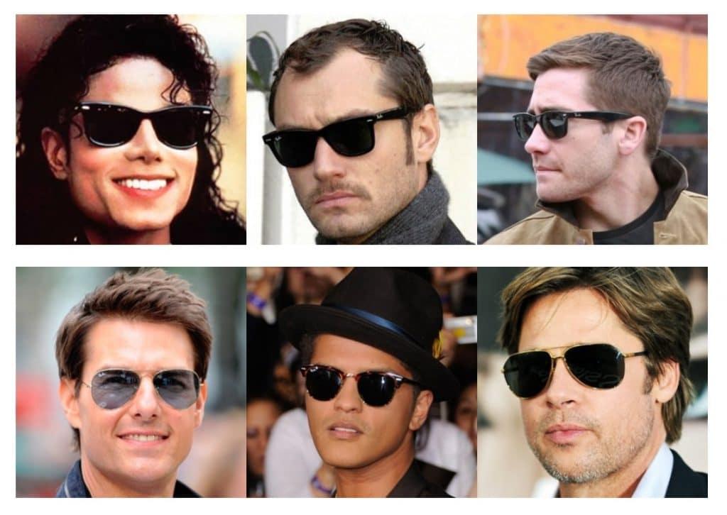 70a22ff3e0 Empecemos el artículo con una afirmación irrebatible: las Ray Ban son unas  gafas de sol míticas. Aquí tienes una pequeña muestra de rostros célebres  que ...