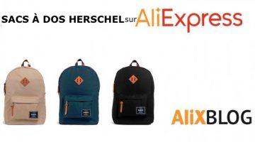 Sacs à dos Herschel à bas prix: comment les acheter au meilleurs prix sur AliExpress (attention, des vrais!)