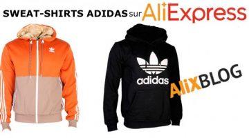 Guide définitif pour acheter des sweat-shirts Adidas à bas prix en 2016: comparatif AliExpress Vs. Amazon Vs. eBay Vs. Asos