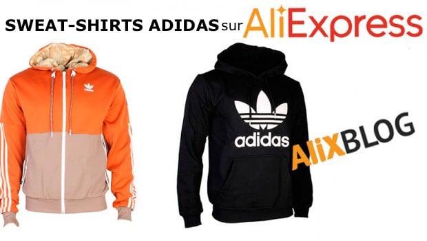 Sweat shirt Adidas AliExpress