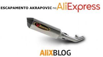 Guia para comprar escapamento Akraprovic e outras marcas no AliExpress