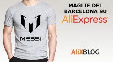 Ci sono maglie del Barcellona scontate su AliExpress?