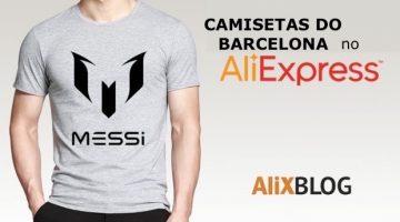 Existem camisetas do Barcelona baratas no AliExpress?