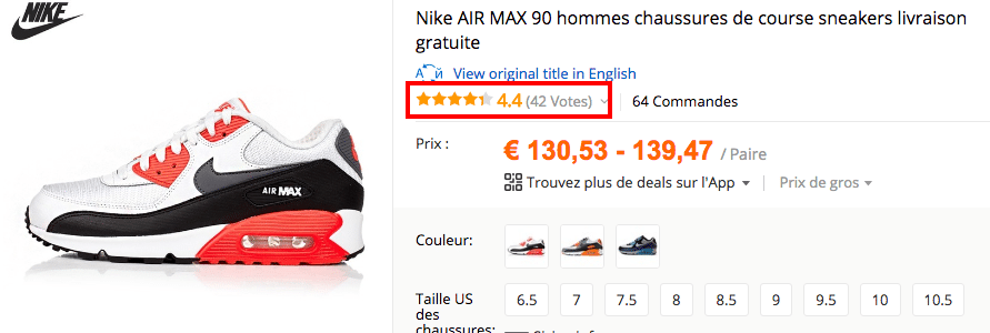 evaluation air max FR