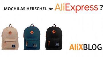 Mochilas Herschel baratas: como comprar pelo melhor preço no AliExpress (originais!)