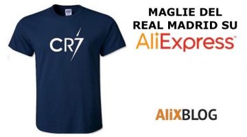Guida per comprare maglie del Real Madrid scontate su AliExpress (e altri prodotti)