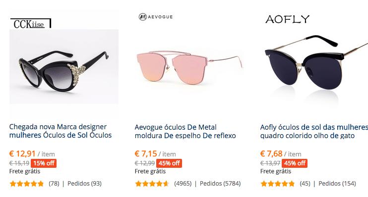 Como encontrar óculos de sol estilo Dior no AliExpress (atenção com as  réplicas) 1e14cc19d1