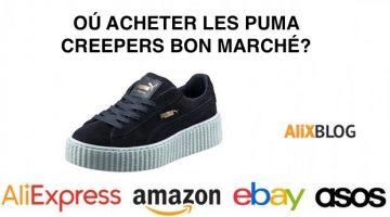 Où acheter les Puma Creepers conçues par Rihanna ?