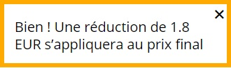 Reduction AliExpress