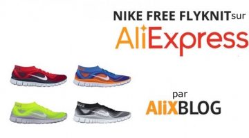Chaussures Nike Free Flyknit à bas prix sur AliExpress – guide d'achat
