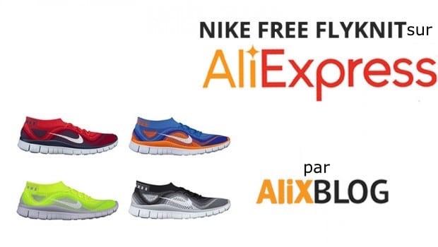 FLyknit NIKE sur AliExpress