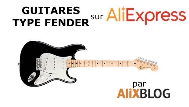 Fender guitar sur AliExpress